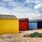 Beach Hut Series 21 by Amanda White