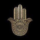 «Mano de oro Hamsa» de maryedenoa