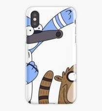 Mordecai and Rigby iPhone Case/Skin