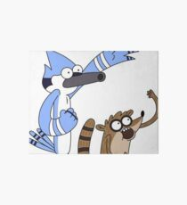Mordecai and Rigby Art Board