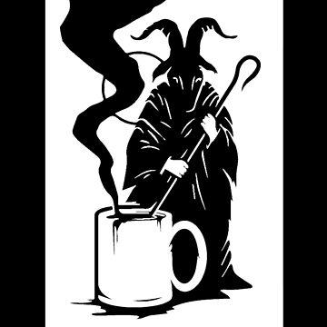 I like my coffee - Black by funprints
