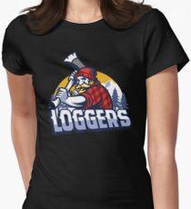 Lumberjack logger  Women's Fitted T-Shirt