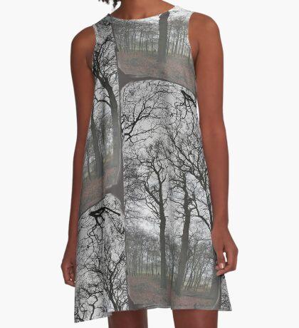 Hoge bomen 2  ~ trees 2 A-Line Dress