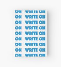 write on Hardcover Journal