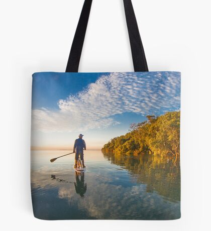 Paddlingboarding Moreton Bay Tote Bag