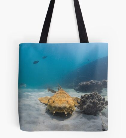 Wobbegong, Tangalooma Wrecks Tote Bag