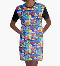 Sleep that dreams Graphic T-Shirt Dress