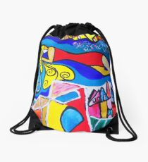 Sleep that dreams Drawstring Bag