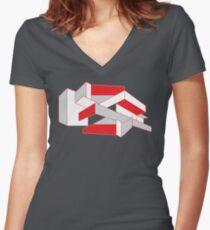 Frank Lloyd Women's Fitted V-Neck T-Shirt