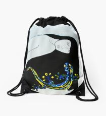 Self Gecko Drawstring Bag