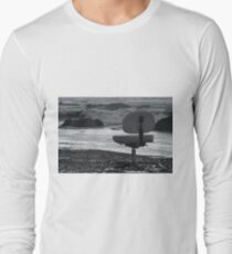 Chair of Oceanography (bw) Long Sleeve T-Shirt