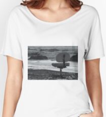 Chair of Oceanography (bw) Women's Relaxed Fit T-Shirt