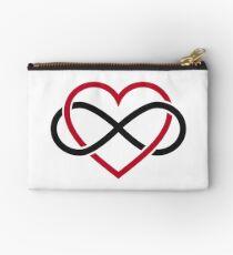 Infinity heart, never ending love Studio Pouch