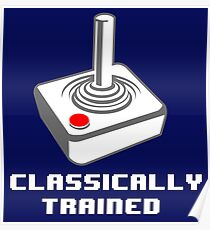 Classically Trained - T-shirt Poster