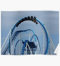 GateKeeper - Cedar Point Roller Coaster Poster