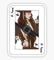 the Jack of Sparrow Sticker