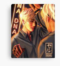 Taehyung Mirror DNA poster xxerru Canvas Print
