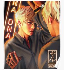 Póster Taehyung Mirror DNA poster xxerru