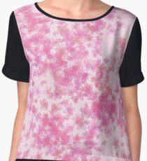 Pink Sakura Blossoms Chiffon Top