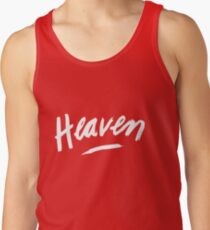 Heaven (White) Men's Tank Top