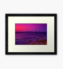 """Twilight Time"" Framed Print"