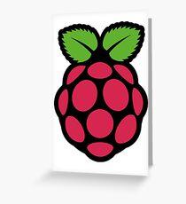 raspberry pi  Greeting Card