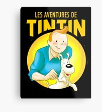 tintin best known under the pen name Metal Print