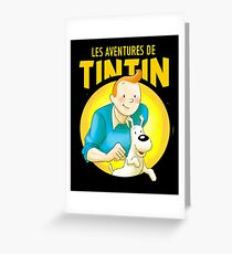 tintin best known under the pen name Greeting Card