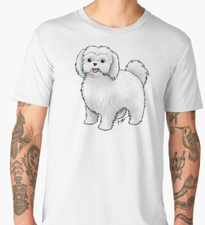 Maltese - Puppy Cut Men's Premium T-Shirt
