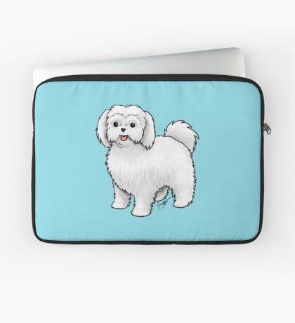 Maltese - Puppy Cut Laptop Sleeve
