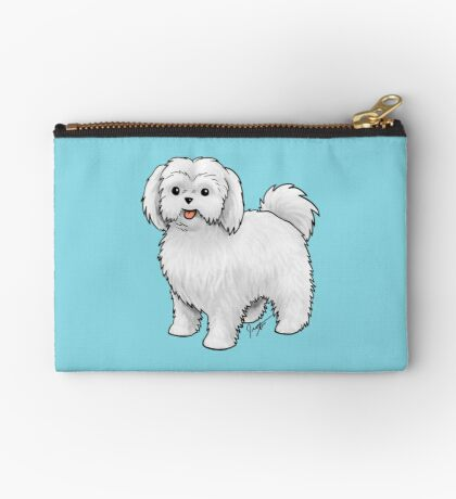 Maltese - Puppy Cut Studio Pouch
