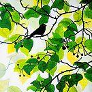 Bird in the Bush by marlene veronique holdsworth