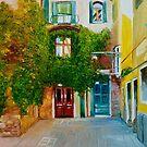 Calle Larga de la Donzela, Venezia, Italy by Dai Wynn