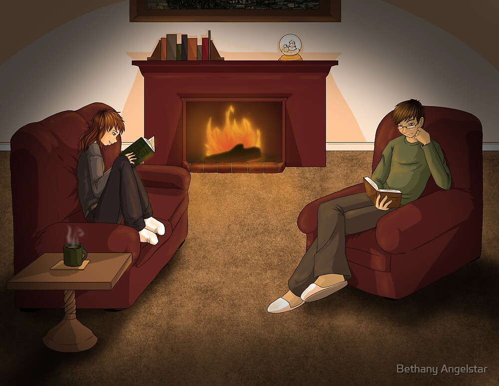 Curl up with a Good Book by Bethany Angelstar