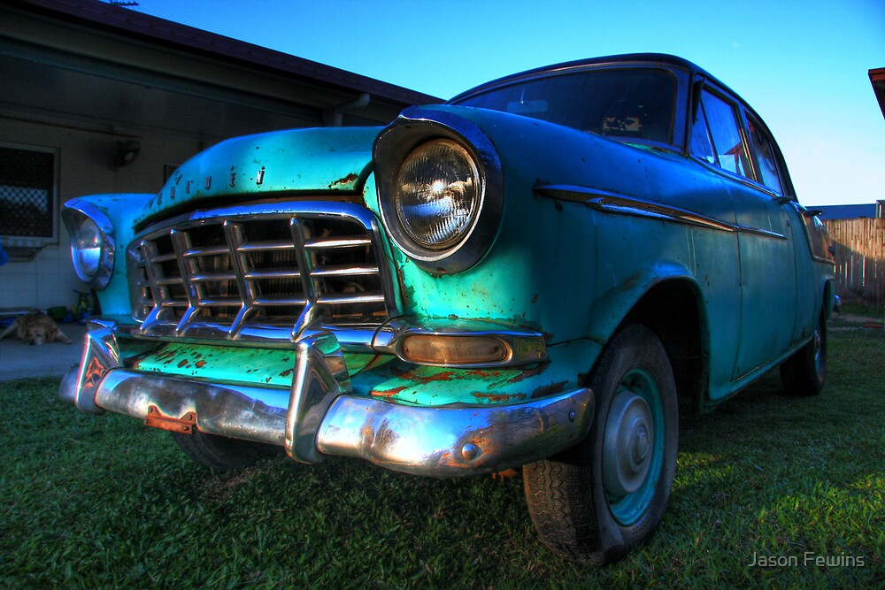 1958 Holden FC Sedan HDR by Jason Fewins