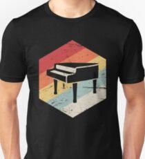 Retro Vintage Pianist Piano Unisex T-Shirt