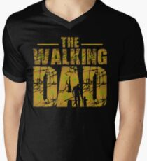 The Walking Dad - Zombie Fathers Gift Men's V-Neck T-Shirt