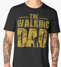 The Walking Dad - Zombie Fathers Gift Men's Premium T-Shirt