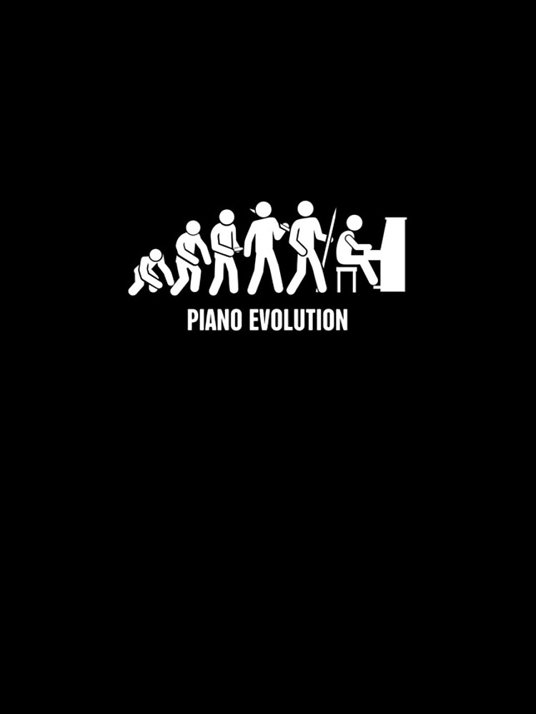 Evolution Of The Piano Player by ethandirks