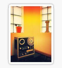Retro Audio Interior Sticker