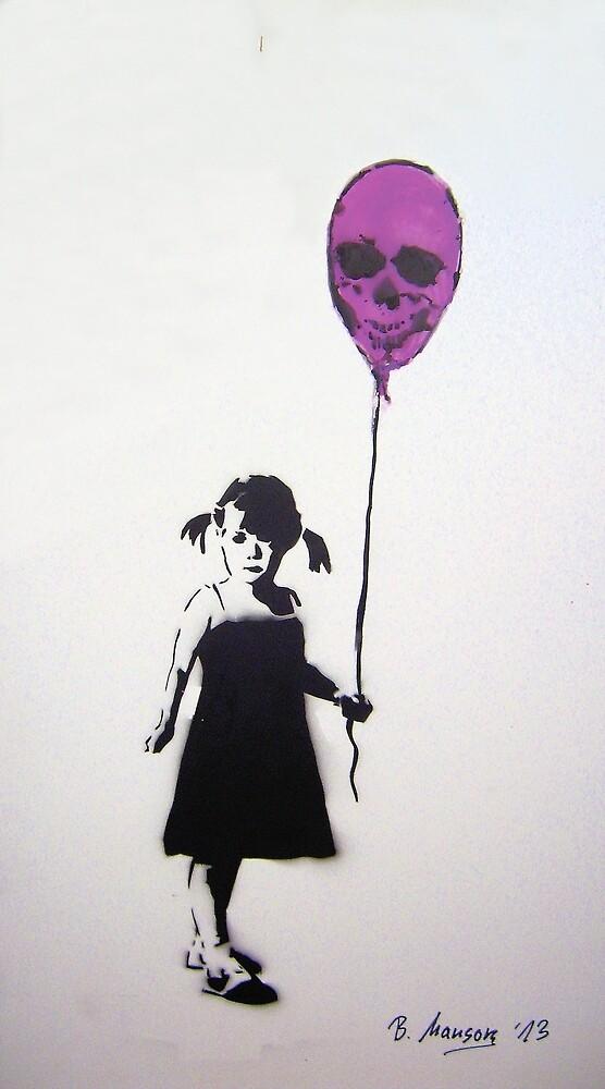 Balloon Girl by Bela-Manson