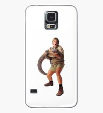 Steve Irwin und Croc Hülle & Klebefolie für Samsung Galaxy