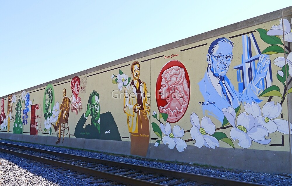 Missouri Wall of Fame by Graeme  Hyde