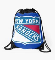 Rangers from New York Drawstring Bag