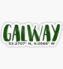 Galway Sticker
