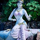 Goddess Saraswati by Sunil Bhardwaj
