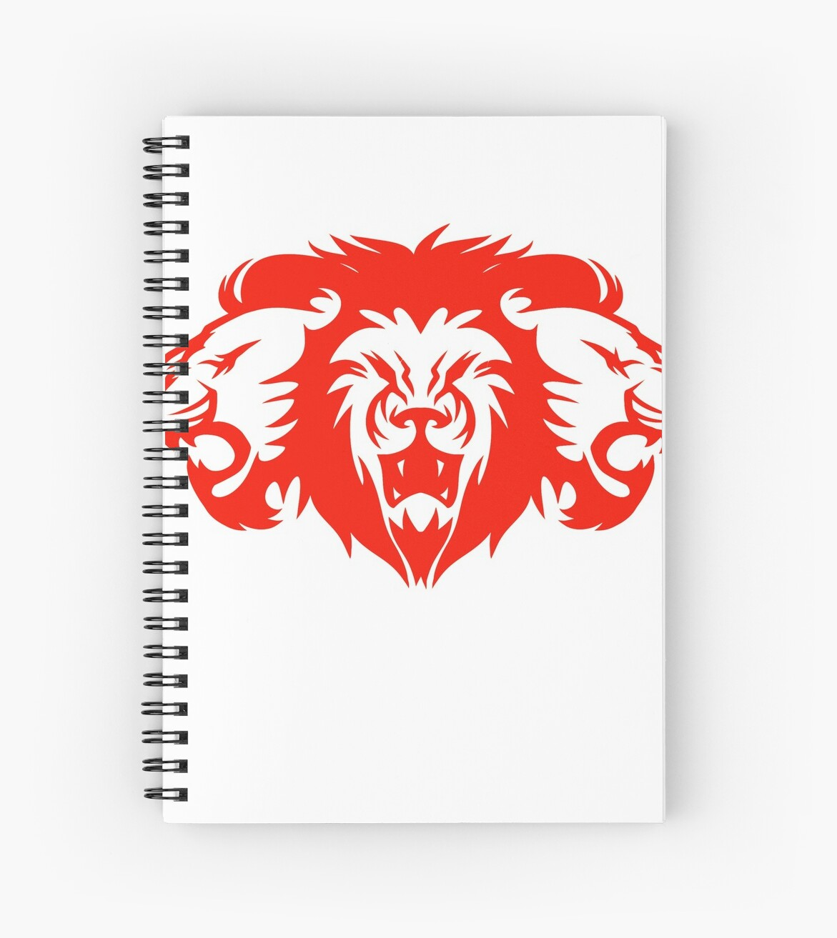 Bob Marley Lion T Shirt Spiral Notebooks By Blindreligion Redbubble