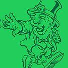 Lucky Shirt Leprechaun by RocketDachshund