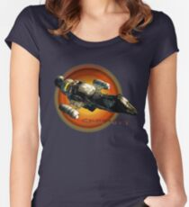 Firefly - Serenity Spaceship Women's Fitted Scoop T-Shirt