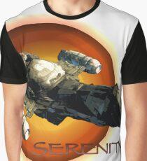 Firefly - Serenity Spaceship Graphic T-Shirt